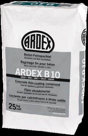 Smalkā betona špaktele ARDEX B 10