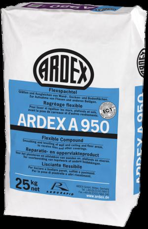 Elastīga špaktele ARDEX A 950