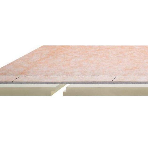 Grīdas līmeņa dušas paliktnis KERDI-SHOWER-LCS ir komplekts kas sastāv no: pamatnes plāksnes ar biezumu 70 vai 51 mm un plāksnes ar 2% kritumu uz vienu malu.